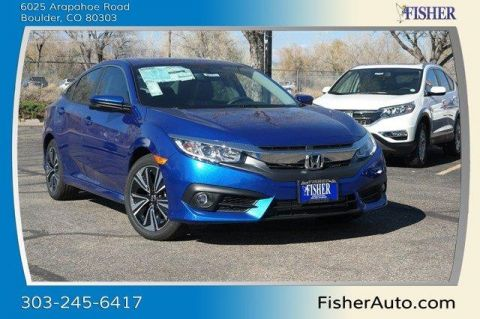 New Honda Civic 4dr CVT EX-L