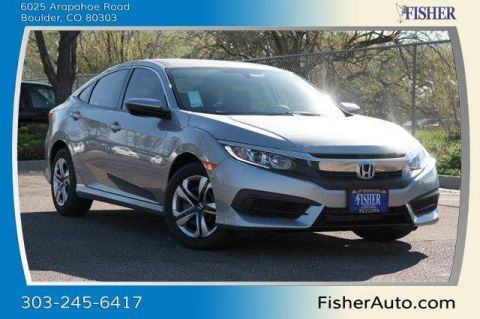 New Honda Civic LX CVT