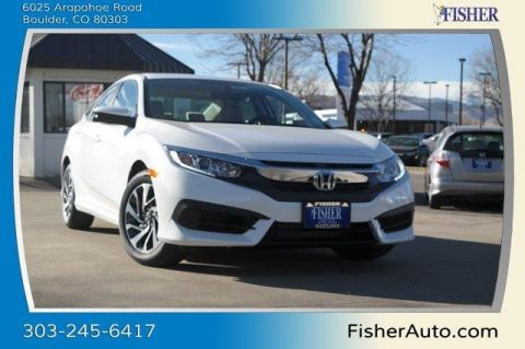 New Honda Civic EX CVT