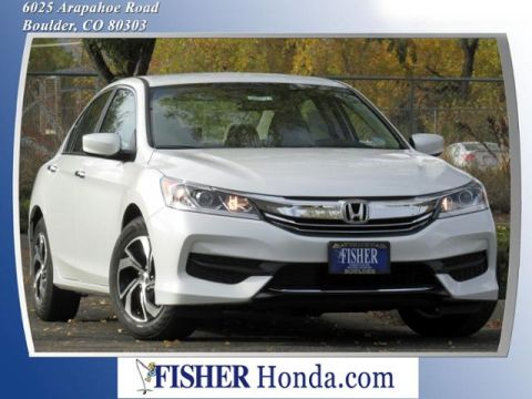 2016 Honda Accord 4dr I4 CVT LX