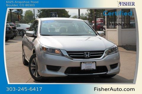 Certified Used Honda Accord 4dr I4 CVT LX
