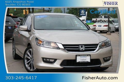 Certified Used Honda Accord 4dr I4 CVT Sport