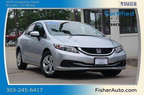 Certified Used Honda Civic 4dr CVT LX