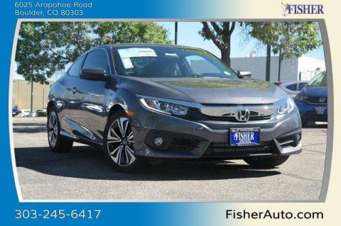 New Honda Civic 2dr CVT EX-T