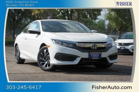 New Honda Civic 2dr CVT LX-P