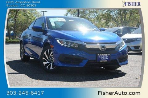New Honda Civic 2dr CVT LX