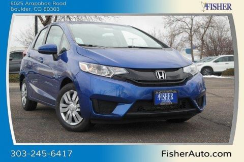 New Honda Fit LX Manual
