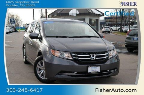 Certified Used Honda Odyssey 5dr EX-L w/RES