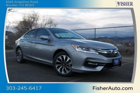 New Honda Accord Hybrid EX-L Sedan
