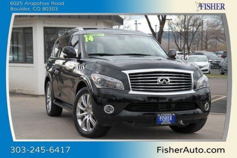 Used INFINITI QX80 4WD 4dr