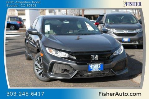 New Honda Civic Hatchback LX CVT w/Honda Sensing