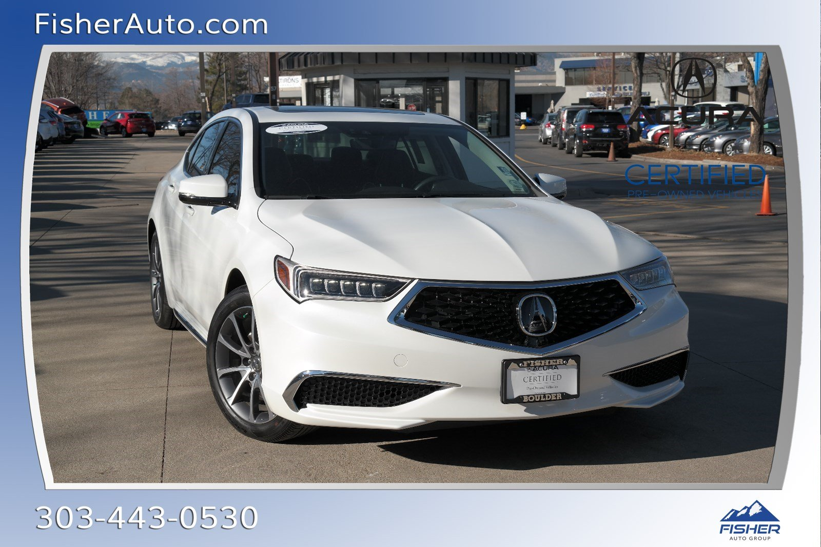 Certified Pre-Owned 2018 Acura TLX 3.5L SH-AWD w/Technology Pkg