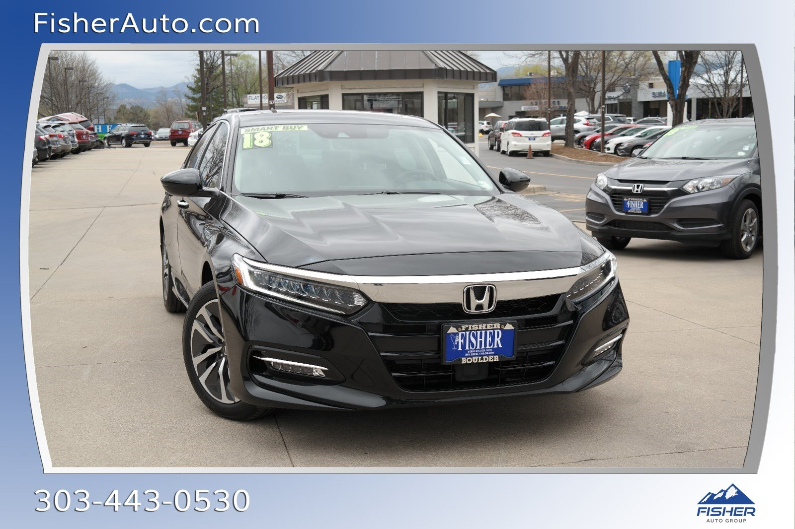 Pre-Owned 2018 Honda Accord Hybrid Touring Sedan