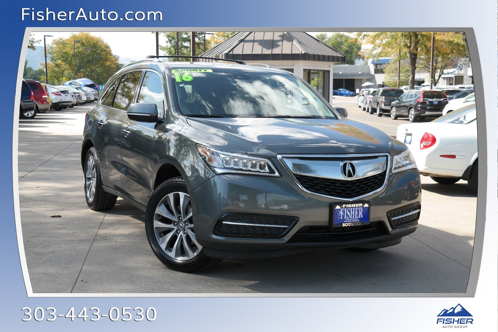 Pre-Owned 2016 Acura MDX SH-AWD 4dr w/Tech/AcuraWatch Plus