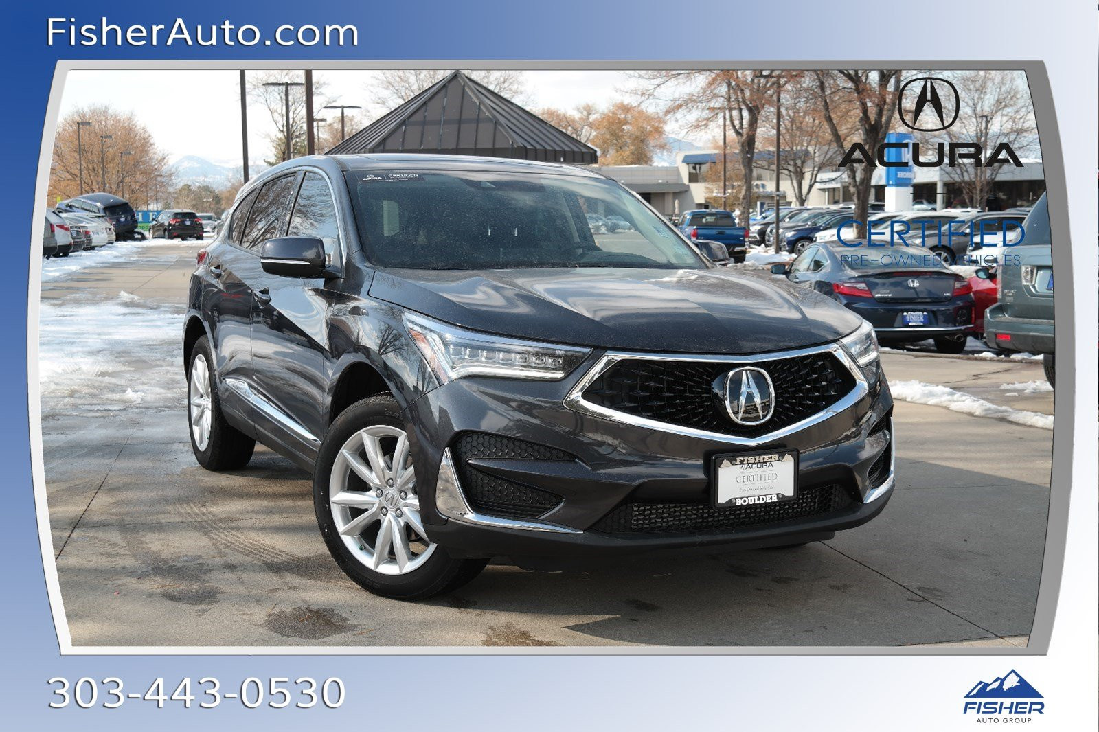 Certified Pre-Owned 2020 Acura RDX AWD