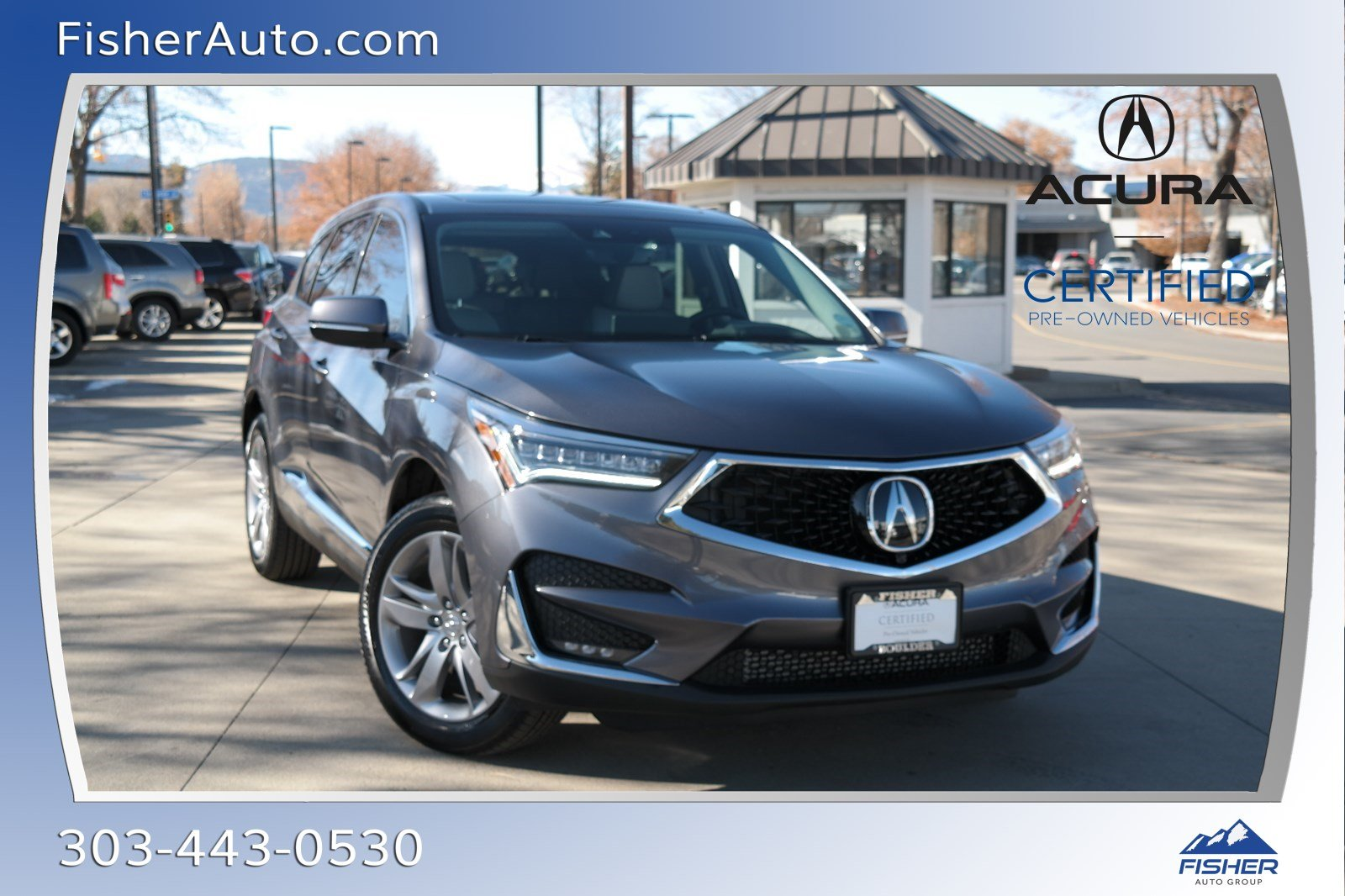 Certified Pre-Owned 2020 Acura RDX AWD w/Advance Pkg