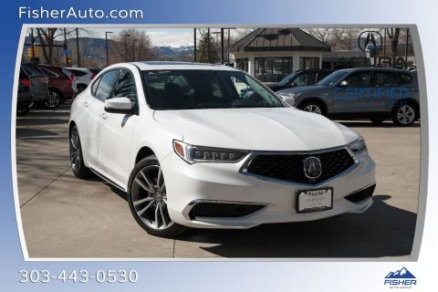Certified Pre-Owned 2020 Acura TLX 3.5L SH-AWD w/Technology Pkg