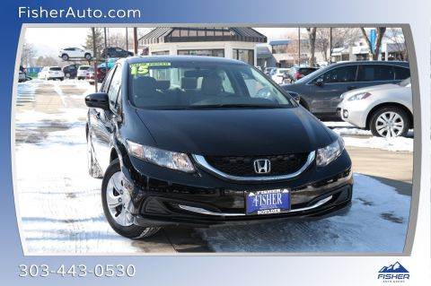 Pre-Owned 2015 Honda Civic 4dr Man LX