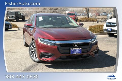 New 2019 Honda Insight Touring FWD 4dr Car
