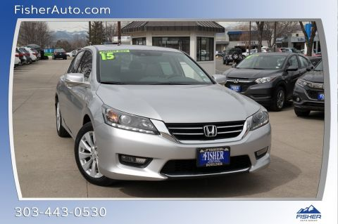 Pre-Owned 2015 Honda Accord 4dr V6 Auto EX-L