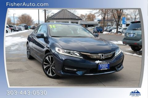 Pre-Owned 2016 Honda Accord 2dr V6 Auto EX-L