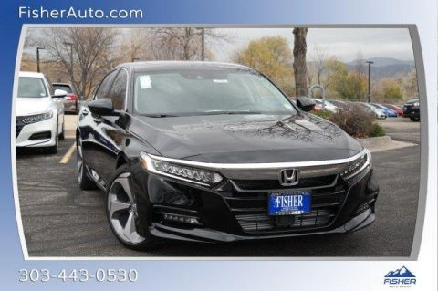 New 2018 Honda Accord Touring 1.5T FWD 4dr Car