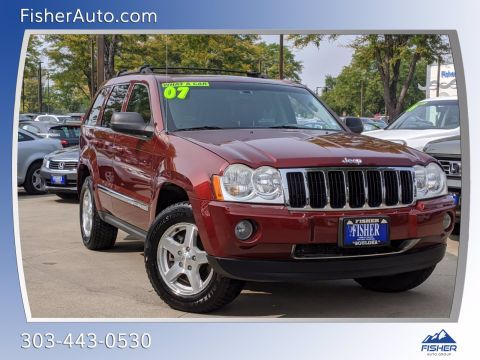 Pre-Owned 2007 Jeep Grand Cherokee 4WD 4dr Limited
