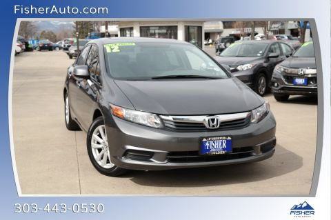 Pre-Owned 2012 Honda Civic 4dr Auto EX