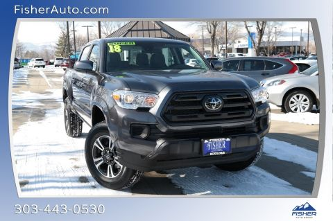 Pre-Owned 2018 Toyota Tacoma SR5 Double Cab 5' Bed V6 4x4 AT
