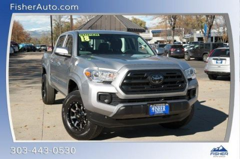 Pre-Owned 2018 Toyota Tacoma SR Double Cab 5' Bed V6 4x4 AT