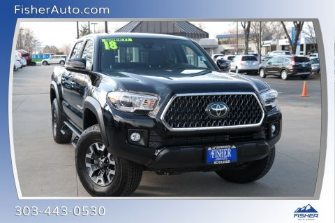 Pre-Owned 2018 Toyota Tacoma Limited Double Cab 5' Bed V6 4x4 AT