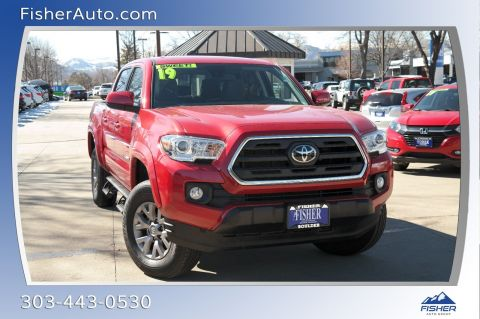 Pre-Owned 2019 Toyota Tacoma 4WD SR5 Double Cab 5' Bed V6 AT