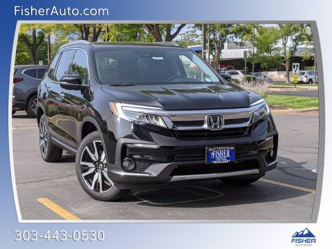 New 2021 Honda Pilot Elite