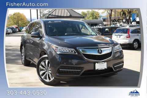 Certified Pre-Owned 2016 Acura MDX SH-AWD 4dr w/Tech/Entertainment/Acu