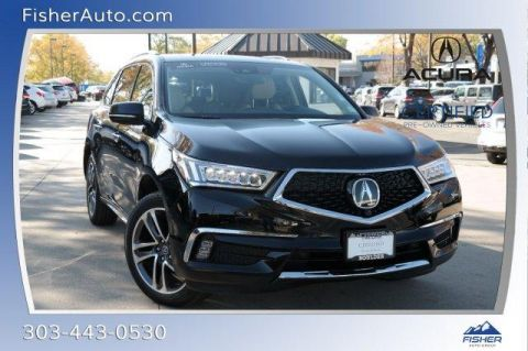 Certified Pre-Owned 2017 Acura MDX SH-AWD w/Advance Pkg