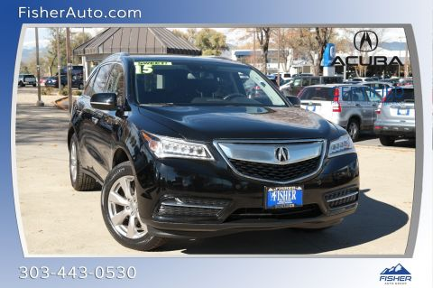 Certified Pre-Owned 2015 Acura MDX SH-AWD 4dr Advance/Entertainment Pk