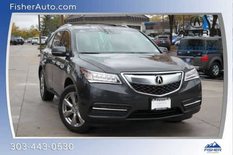 Certified Pre-Owned 2016 Acura MDX SH-AWD 4dr w/Advance