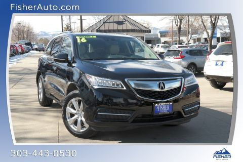 Pre-Owned 2016 Acura MDX SH-AWD 4dr w/Advance