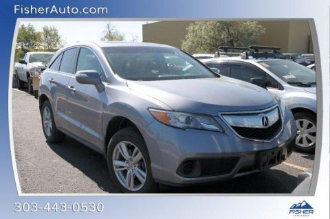 Certified Pre-Owned 2015 Acura RDX AWD 4dr