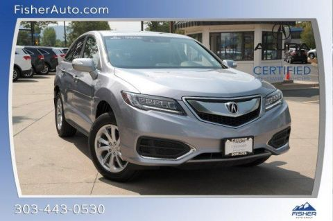 Certified Pre-Owned 2016 Acura RDX AWD 4dr AcuraWatch Plus Pkg