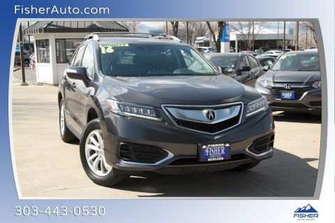Pre-Owned 2016 Acura RDX AWD 4dr AcuraWatch Plus Pkg