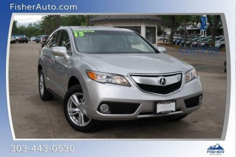Certified Pre-Owned 2015 Acura RDX AWD 4dr Tech Pkg