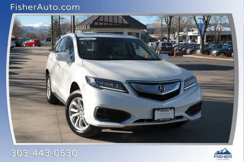 Pre-Owned 2018 Acura RDX AWD w/Technology/AcuraWatch Plus Pk
