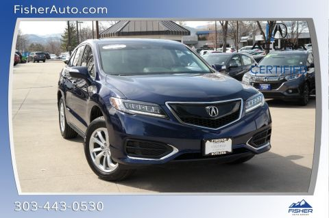 Certified Pre-Owned 2018 Acura RDX AWD w/Technology/AcuraWatch Plus Pk