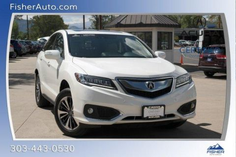 Certified Pre-Owned 2016 Acura RDX AWD 4dr Advance Pkg