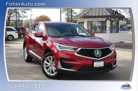Certified Pre-Owned 2019 Acura RDX AWD