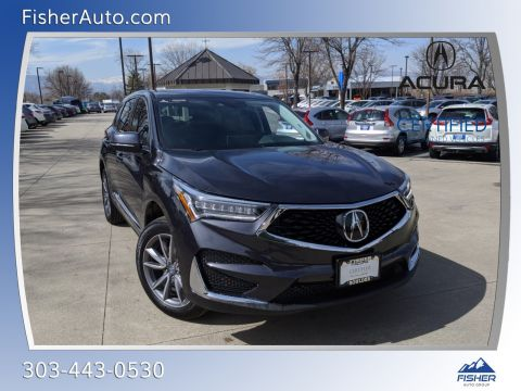 Certified Pre-Owned 2020 Acura RDX SH-AWD w/Technology Pkg