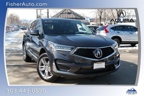 Certified Pre-Owned 2020 Acura RDX SH-AWD w/Advance Pkg