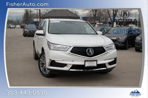 Certified Pre-Owned 2018 Acura MDX SH-AWD w/Technology/Entertainment P