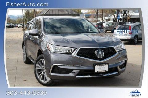 Certified Pre-Owned 2018 Acura MDX SH-AWD Sport Hybrid w/Technology Pk